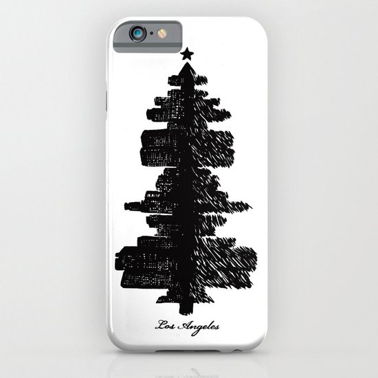 Los Angeles Christmas iPhone & iPod Case