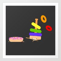 Put A Ring On It Art Print