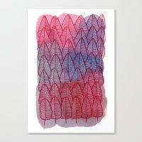 Leaves / Nr. 6 Canvas Print