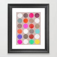 colorplay 2 Framed Art Print