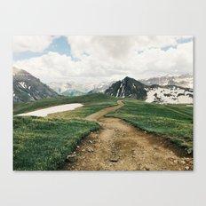 Colorado Mountain Road Canvas Print