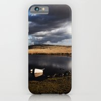 iPhone & iPod Case featuring Brecon Beacons by Delphine Comte