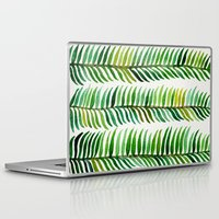 watercolor Laptop & iPad Skins featuring Seaweed by Cat Coquillette