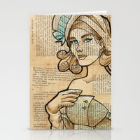 Iron Woman 7 Stationery Cards