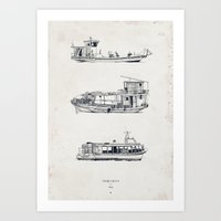 Tigre Delta: Ships Part One Art Print