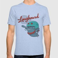Longboard Mens Fitted Tee Athletic Blue SMALL