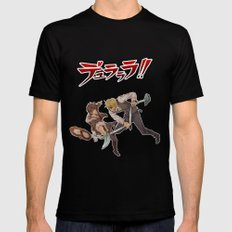 Izaya and Shizuo Black SMALL Mens Fitted Tee