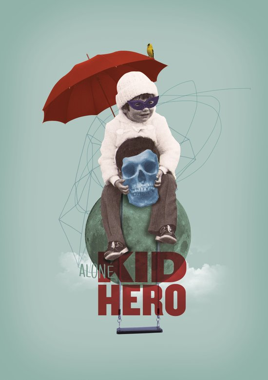 KID HERO Art Print