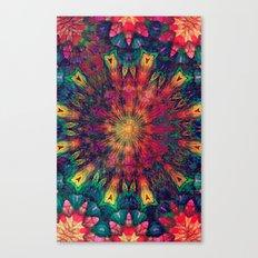 Mandala Love Canvas Print