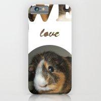 We Love Guinea Pigs iPhone 6 Slim Case