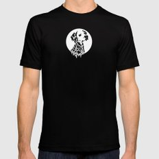 Drippy Black Mens Fitted Tee SMALL