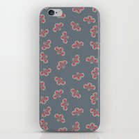 Floral Swarming  iPhone & iPod Skin