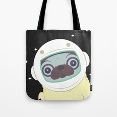 Pug in Space Tote Bag
