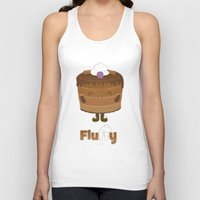 Fluffy Chocolate Mousse Cake Unisex Tank Top