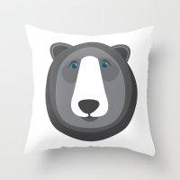 Forest Friends: Bear Throw Pillow
