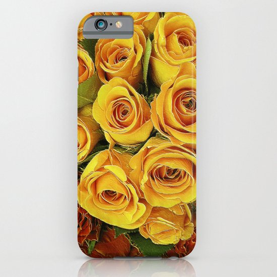A Case of LOVE! (hot roses) iPhone & iPod Case