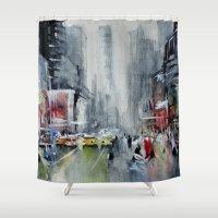 New York - New York Shower Curtain