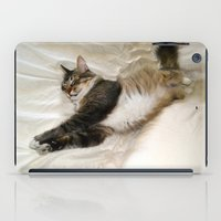 Cat Dreaming iPad Case