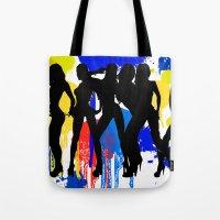 Girls, Girls, Girls Tote Bag