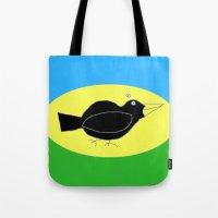 Meg's Crow Tote Bag