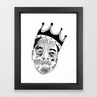 B.I.G Framed Art Print