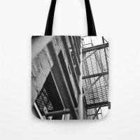 Balcony Angle Tote Bag