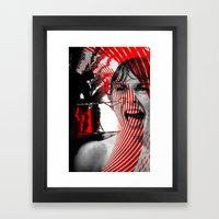 MURDER BATH Framed Art Print