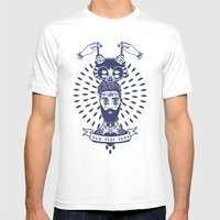 QUE SERA SERA Mens Fitted Tee White SMALL