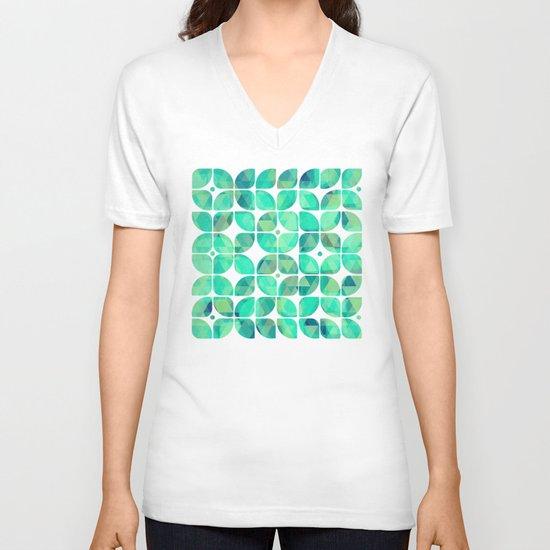 Minty V-neck T-shirt