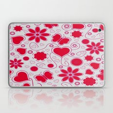 love and flower Laptop & iPad Skin