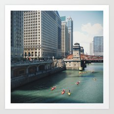 big city Art Print