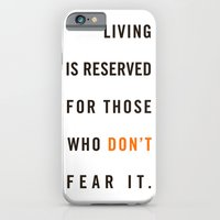 iPhone & iPod Case featuring Live Unafraid by Josh Hudnall