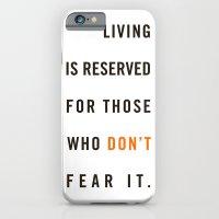 Live Unafraid iPhone 6 Slim Case