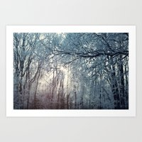 Winter (2) Art Print