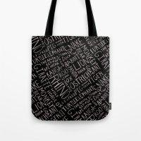 Animal Block Tote Bag