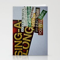 Singalong Stationery Cards