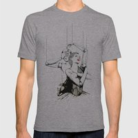 Embrace Mens Fitted Tee Athletic Grey SMALL