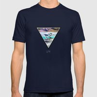 Life Mens Fitted Tee Navy SMALL