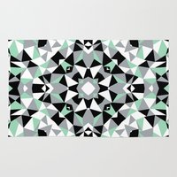 Abstract Kaleidoscope Mi… Rug