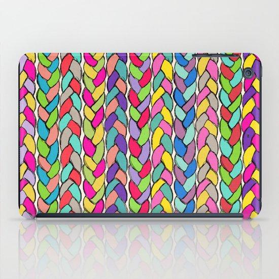 Rainbow Braids iPad Case