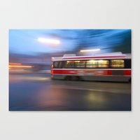 Steel In Motion Canvas Print