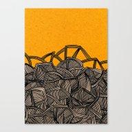 - Barricades - Canvas Print