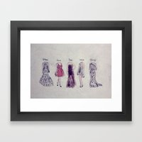 Haute Couture  Framed Art Print