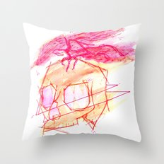 Boneshuck Throw Pillow