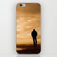 Watching the ships go by iPhone & iPod Skin