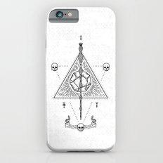 Deathly Hallows (White) iPhone 6 Slim Case