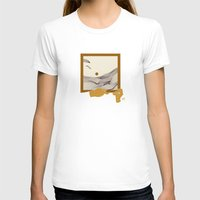 Picture Womens Fitted Tee White SMALL