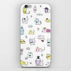 Cats in Couture iPhone & iPod Skin