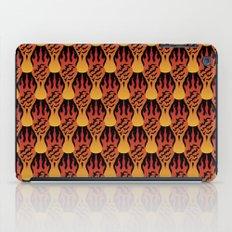 SCORCH pattern [BLACK] iPad Case