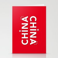 China PRC Red Flag Poste… Stationery Cards